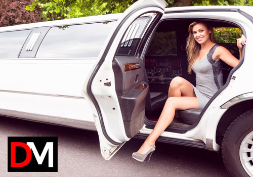 Limo service with escort girl Amsterdam DM